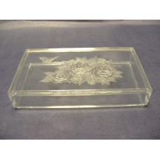 Jewelry Boxes /Lucite Embossed Flat