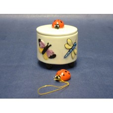 Trinket Boxes /Butterfly & Ladybug