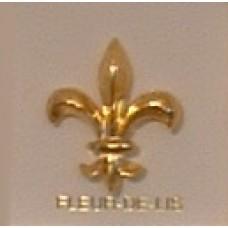 """Gold """"Fleur-De-Lis"""" Pins"""