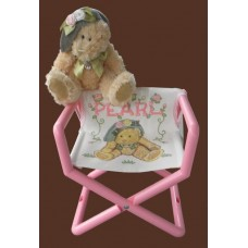 """Mesh """"Director's Chair"""" Booster Seats / Various Designs"""