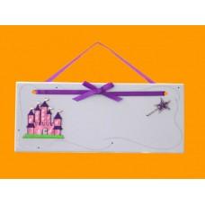Princess Castles Name Plaques