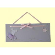 Ballerina/Princess Name Plaques /Lavender