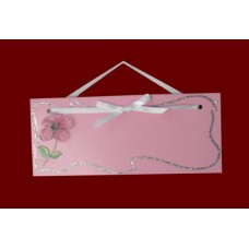 Flower Name Plaques /Pink