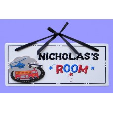 Emergency Vehicles Name Plaques