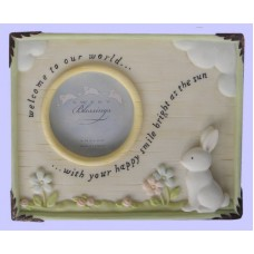"""Welcome To Our World"" Picture Frames"