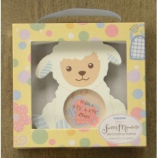 Blue Lamb Picture Frame