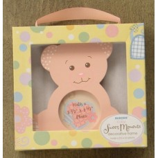 Pink Bear Picture Frame