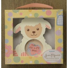 Pink Lamb Picture Frame