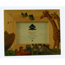 Noah's Ark Wooden Picture Frame