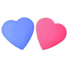 "Boxes w/Lids: Large ""Hearts"":Pink & Purple"