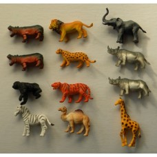 African Adventure /12 pc. Safari Set