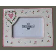 Picture Frame /Sage /Pink Flora