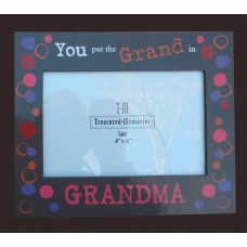 "Picture Frame /""You put the Grand in Grandma"""