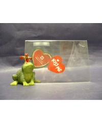 "Frogs ""Kiss Me"" Picture Frames"