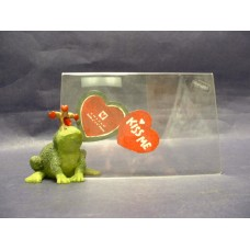 """Frogs """"Kiss Me"""" Picture Frames"""
