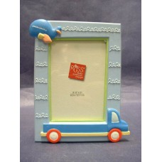 Airplane /Truck; Blue Picture Frames