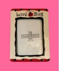 """Ladybug Picture Frames/""""Lovebug"""""""