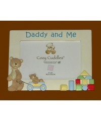 """Daddy and Me"" Picture Frames /Bears"