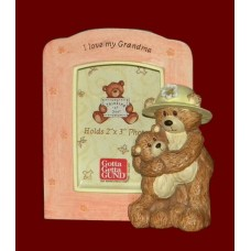 """I Love My Grandma"" /""Grandpa"" Picture Frames /Bears"