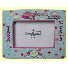 """Sweet Sixteen"" Floral Picture Frames (Design Added)"