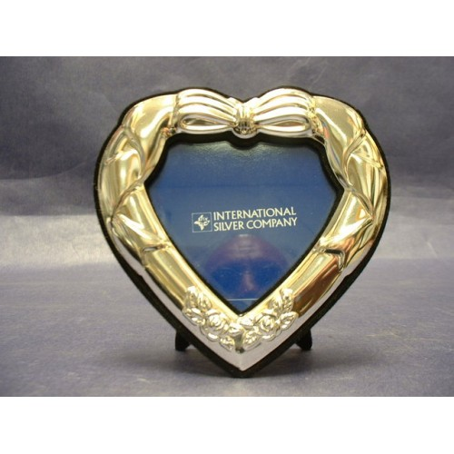 Silver Hearts Picture Frames