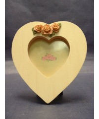 Hearts & Roses Picture Frames