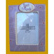 "Best Friends/""Best Friends"" /Lavender Picture Frames"