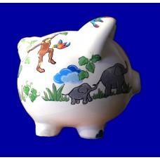 Medium Piggy Banks /JUNGLE ANIMALS
