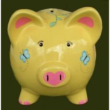 Medium Colored Piggy Banks