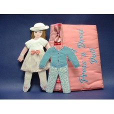 Giftique Press 'n Dress Doll Set 2