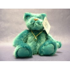 Emerald-Green Bears w/ Necklace
