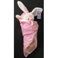"""Bunnies / """"Lani"""" Bunny with Blanket"""