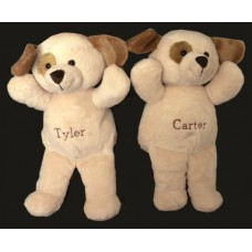 Personalized Pals Plush Puppies, Bears or Monkeys