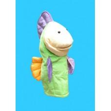 Fish Hand Puppet Makes Sound