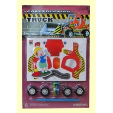Models /3-D Construction Truck Puzzles