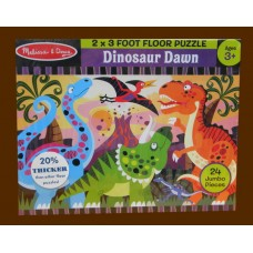 Floor Puzzles / Dinosaur Dawn