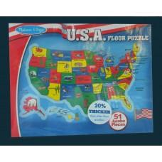 Floor Puzzles / U.S.A.