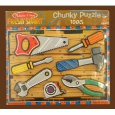 Fresh Start Chunky Puzzle /Tools