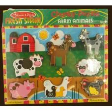 Fresh Start Chunky Puzzle /Farm Animals