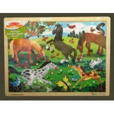 Fresh Start Frolicking Horses Puzzle