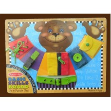 Basic Skills Wooden Board Puzzle