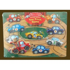 Magnetic Wooden Tow Truck Game Puzzles