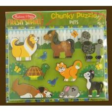 Fresh Start Chunky Puzzle /Pets