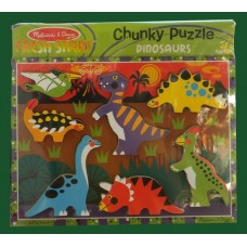 Fresh Start Chunky Puzzle /Dinosaurs
