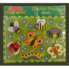 Fresh Start Chunky Puzzle /Insects
