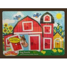 Fresh Start Farm Peek-A-Boo Puzzle