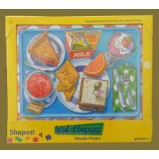 Kid Classics Wooden Puzzles /Shapes