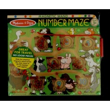 Wooden Color Maze Puzzle /Farm Animals