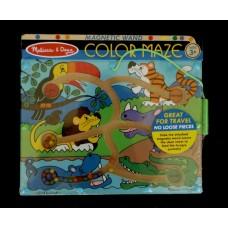 Wooden Color Maze Puzzle /Jungle Animals