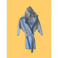 Hooded Terry Robes /Blue
